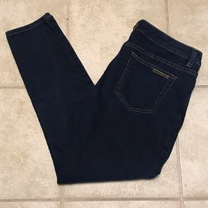 Michael Kors Dark Wash Skinny Jeans Sz 12